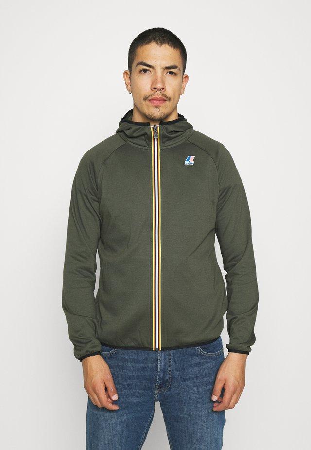 LE VRAI UNISEX - Zip-up hoodie - black torba