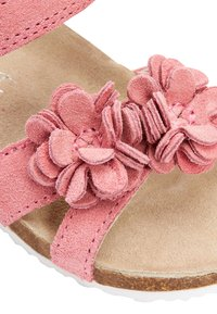 Next - PINK CORKBED FLOWER SANDALS (YOUNGER) - Outdoorsandalen - pink - 3