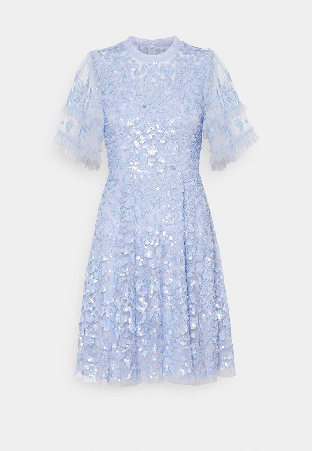 AURELIA MINI DRESS - Cocktailjurk - wedgewood blue