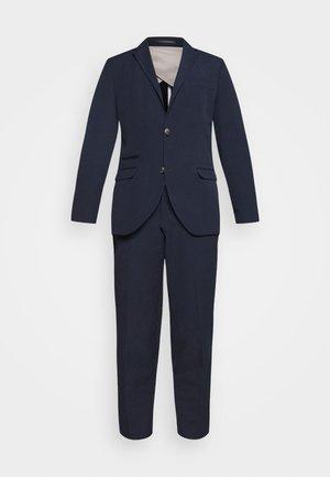 SLHSLIM SUIT SLIM FIT - Suit - navy blazer