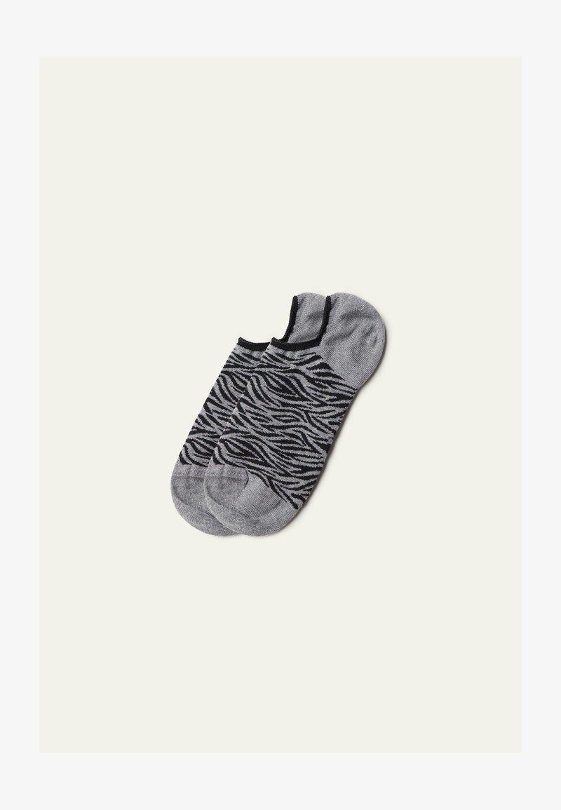 Tezenis - Socks - grau - 8843 - grey zebra print