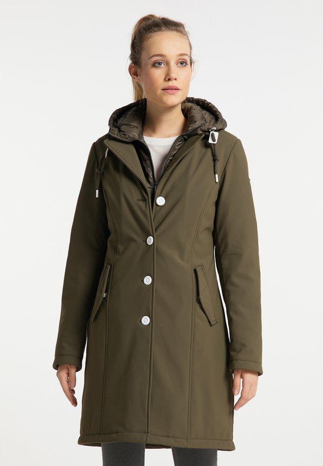 Abrigo de invierno - militär oliv