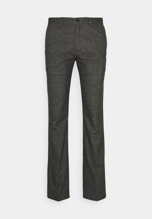 DENTON FAKE SOLID LOOK - Pantalon classique - dark ash