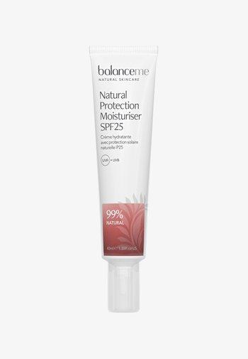 NATURAL PROTECTION MOISTURIZER SPF25 40ML - Face cream - neutral