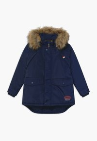 Lemon Beret - SMALL BOYS - Winterjas - navy blazer - 0