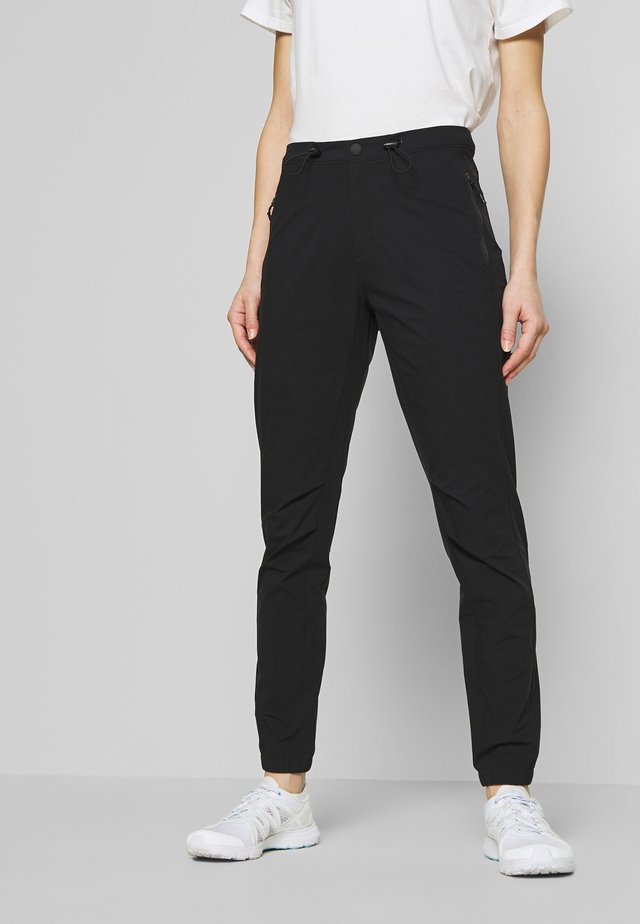 DEVON - Pantaloni - black