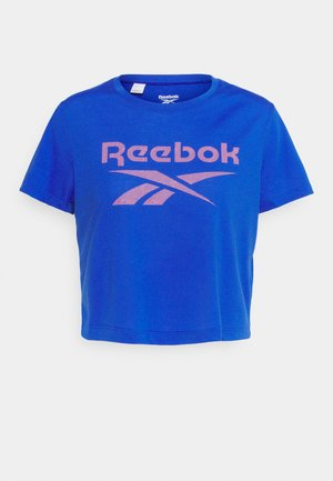 WORKOUT READY SUPREMIUM BIG LOGO T-SHIRT - Print T-shirt - court blue