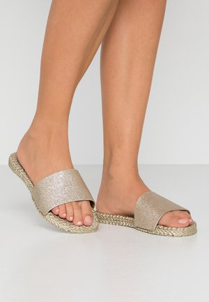 CHEERFUL - Mules - platin