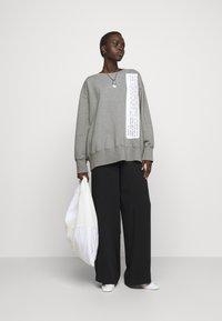 MM6 Maison Margiela - Sweatshirt - grey - 1