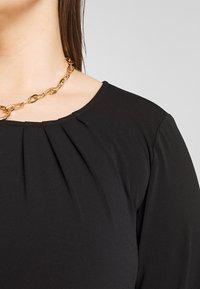 Zizzi - MLILA DRESS - Paitamekko - black - 4