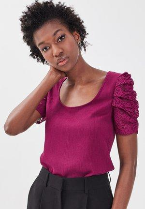 Camiseta estampada - violet foncé