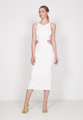 CUT OUT - Shift dress - off white