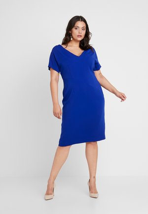 DELIA - Shift dress - blu cina