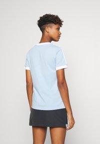 adidas Originals - Print T-shirt - clear sky/white - 2