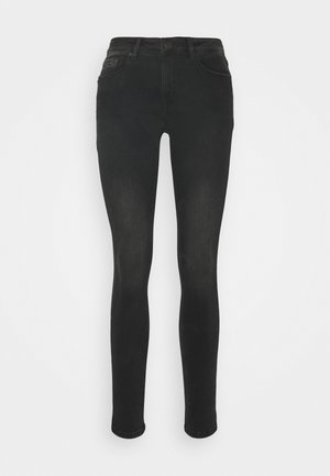ELMA SHADOW - Skinny-Farkut - soft washed black