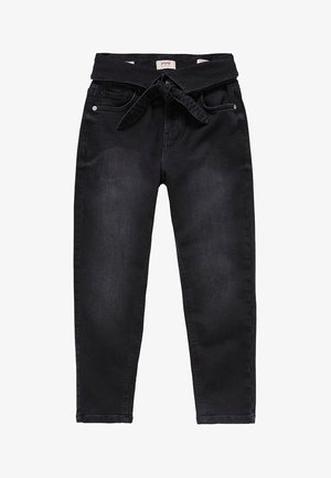 RAVEN BLK - Džíny Relaxed Fit - denim