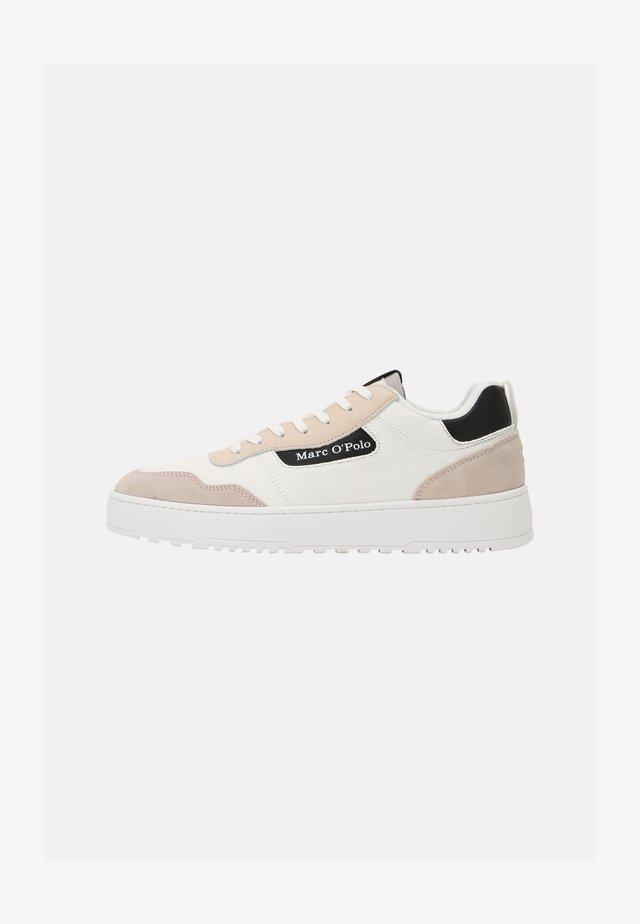 CARLO 3D - Sneakers laag - white/black
