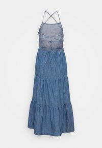 Pieces - PCTINKA STRAP MIDI DRESS - Maxi dress - medium blue - 1