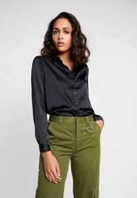 JDY - JDYFIFI  - Button-down blouse - black - 0