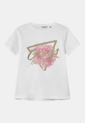 JUNIOR  - T-shirt con stampa - true white