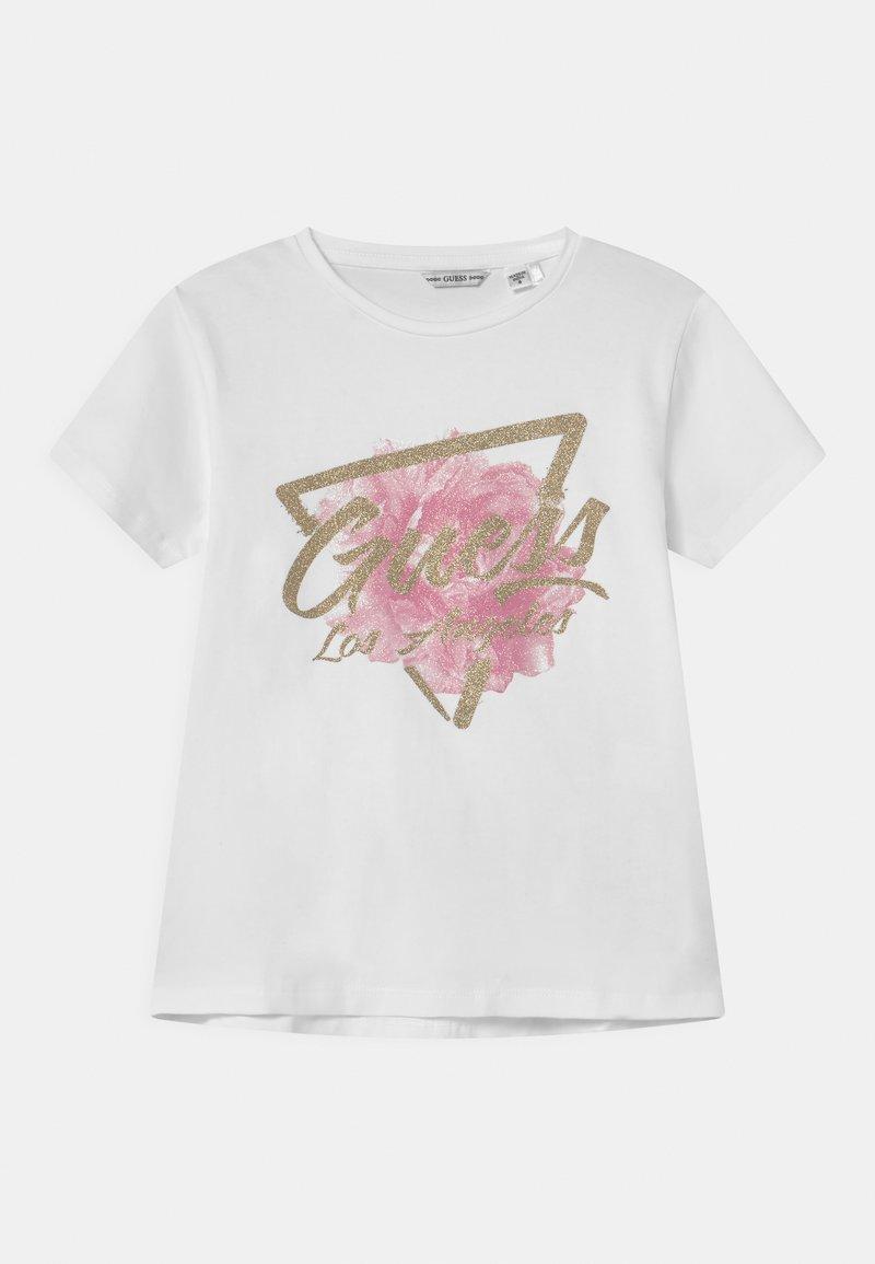 Guess - JUNIOR  - Print T-shirt - true white