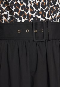 MICHAEL Michael Kors - MIDI SKIRT - Maxi skirt - black - 5