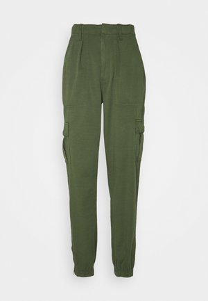 UTILITY JOGGER - Cargo trousers - olive