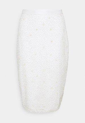 YASBODA SKIRT - Blyantskjørt - ivory
