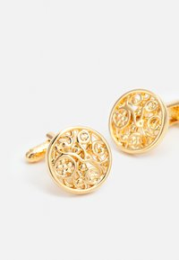 Twisted Tailor - GEORGE FLORAL LINK - Cufflinks - gold-coloured - 2