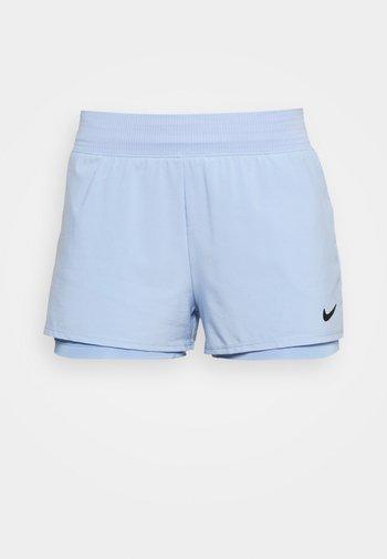 Sports shorts - aluminum/black