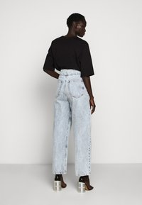MM6 Maison Margiela - WIDE LEG  - Džíny Relaxed Fit - blue