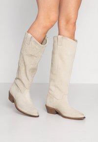 Bronx - RAIDDAN - Cowboy/Biker boots - sand - 0