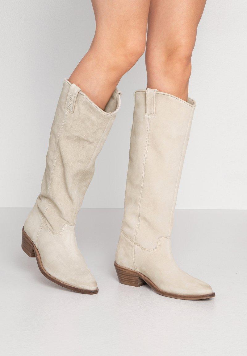 Bronx - RAIDDAN - Cowboy/Biker boots - sand