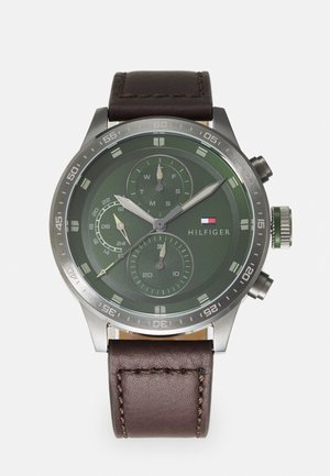 TRENT - Watch - brown/green