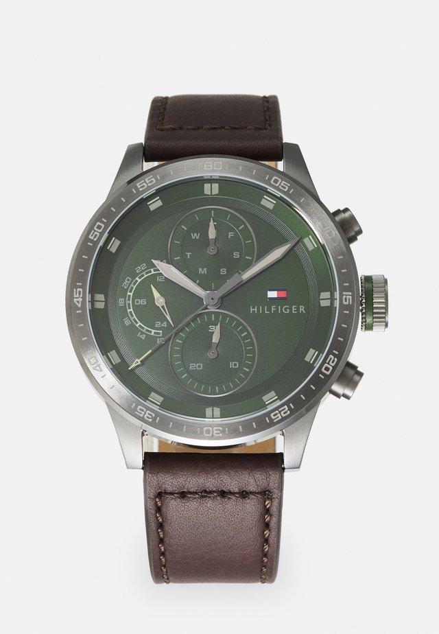 TRENT - Rannekello - brown/green