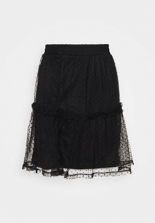 VMDORTHANA  - Mini skirt - black