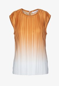 BOSS CASUAL - EZZIE - Blouse - orange white - 0