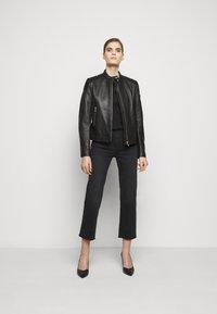 Belstaff - NEW MOLLISON JACKET - Veste en cuir - black - 1