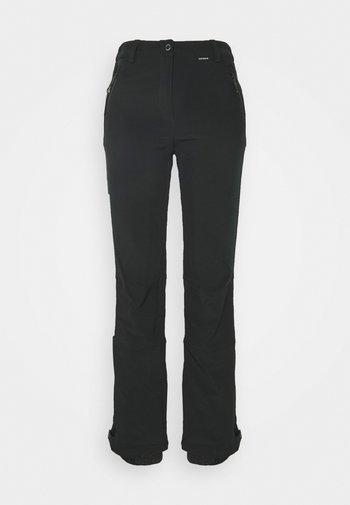 FRECHEN - Snow pants - black