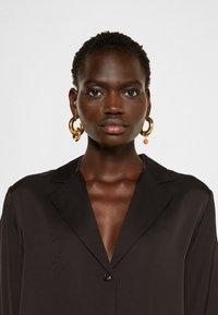 DESIGNERS REMIX - EMME  - Button-down blouse - black - 4