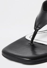 River Island - T-bar sandals - black - 3