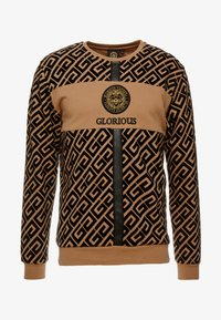 Glorious Gangsta - YAKUZA LOGO SWEAT - Sudadera - tan - 4