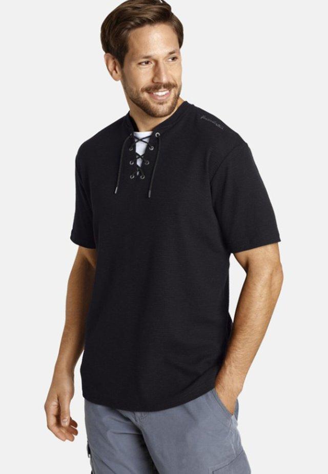 PAJU - T-shirt imprimé - black
