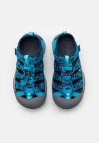 Keen - NEWPORT H2 UNISEX - Walking sandals - vivid blue/katydid - 3
