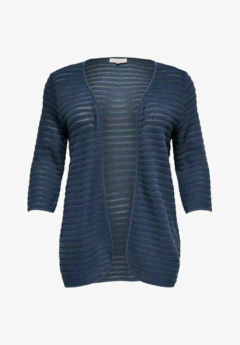 CURVY - Cardigan - ombre blue