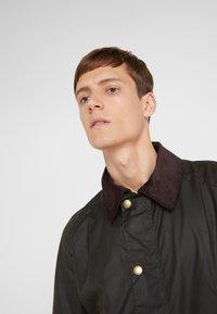 Barbour - ASHBY WAX JACKET - Summer jacket - olive - 6