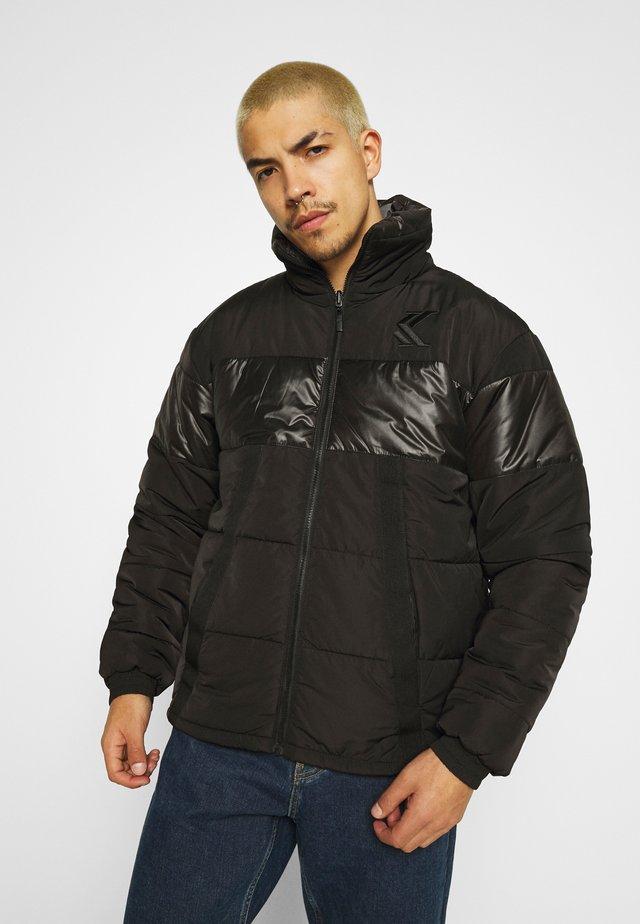 OG REVERSIBLE CAMO PUFFER JACKET - Winter jacket - black