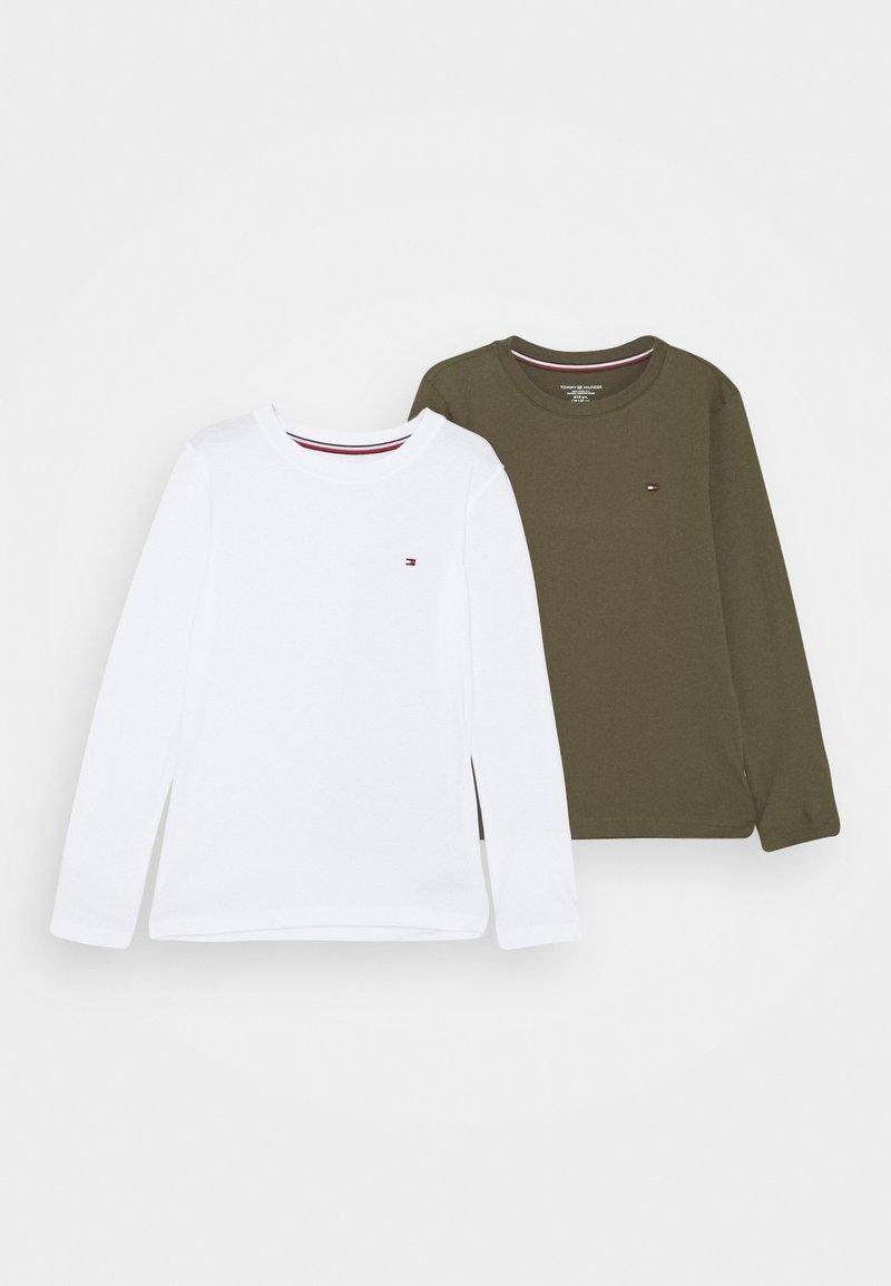 Tommy Hilfiger - 2 PACK - Pyjama top - white