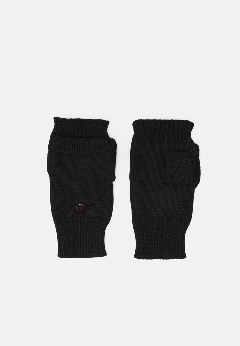 Even&Odd - Fingerless gloves - black