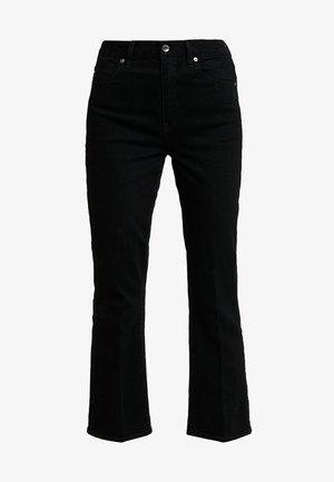 CODAM HIGH KICK 7/8 - Jeans a zampa - black